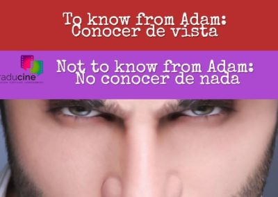 know from adam