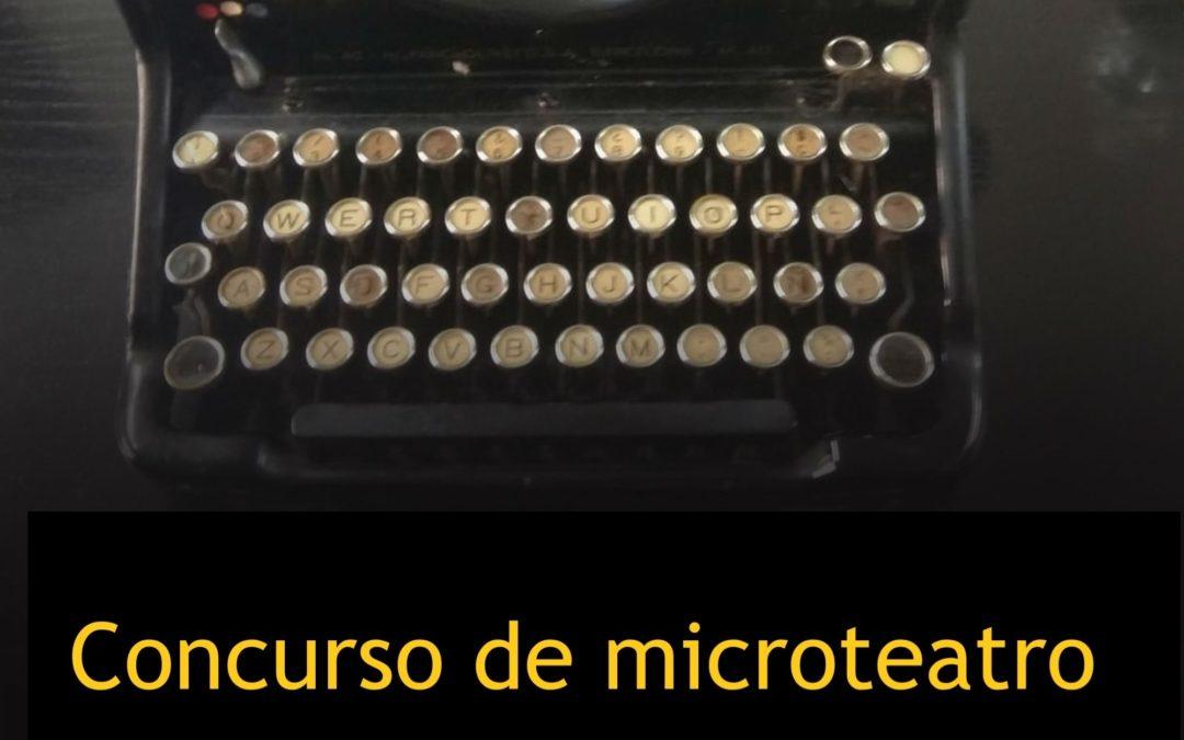 Concurso de guion de microteatro